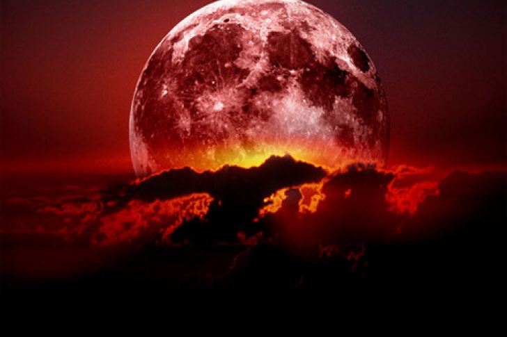 Eclipse luna roja