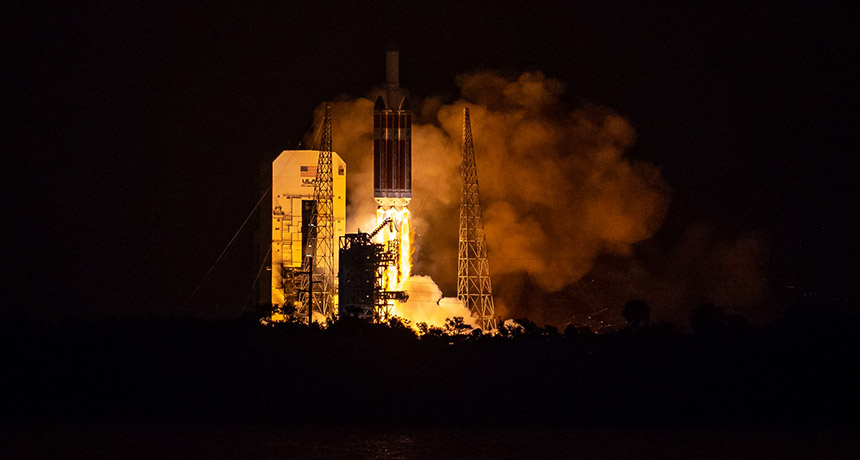 Despegue de la Parker Solar Probe